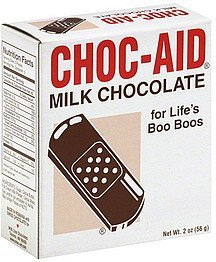 milk chocolate Choc-Aid Nutrition info