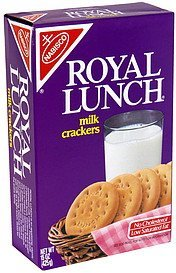 milk crackers Royal Lunch Nutrition info