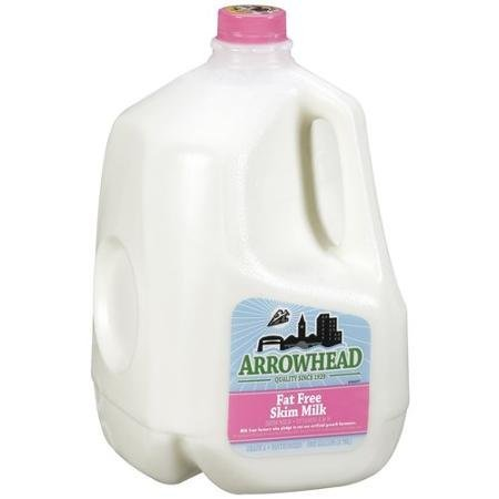 milk fat free skim Arrowhead Nutrition info