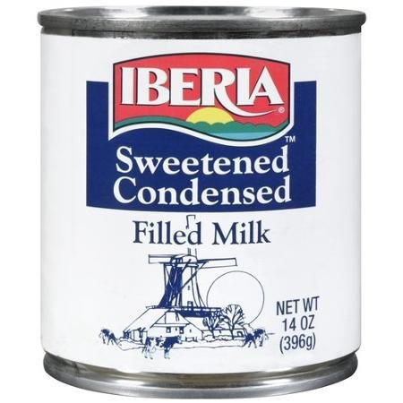 milk filled, sweetened condensed IBERIA Nutrition info