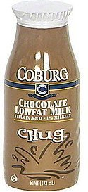 milk lowfat, chocolate Coburg Nutrition info