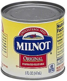 milk original evaporated Milnot Nutrition info