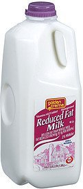 milk reduced fat Golden Creme Nutrition info