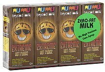 milk zero-fat, extreme hot fudge Numu Nutrition info