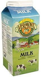 milk Vermont Family Farms Nutrition info