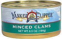 minced clams Yankee Clipper Nutrition info