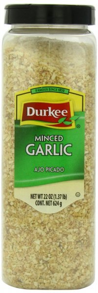 minced garlic Durkee Nutrition info