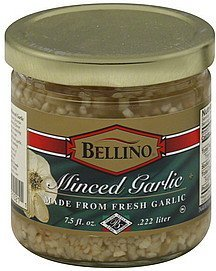 minced garlic Bellino Nutrition info