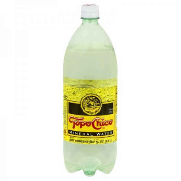 mineral water Topo Chico Nutrition info