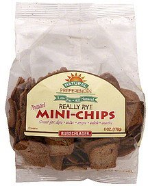 mini-chips really rye Natural Preferences Nutrition info