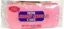 mini frosty angel cake Dolly Madison Bakery Nutrition info