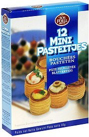 mini puff pastry Jos Poell Nutrition info
