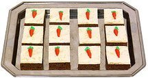 mini square carrot cake House of Fine Chocolates Nutrition info