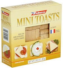 mini toasts Albatros Nutrition info