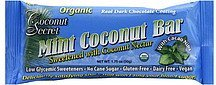 mint coconut bar Coconut Secret Nutrition info