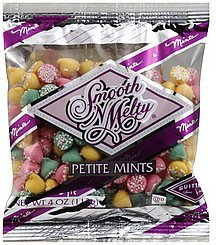 mints petite Smooth 'N Melty Nutrition info