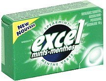 mints spearmint Excel Nutrition info