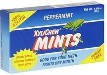 mints sugar free, peppermint Xylichew Nutrition info