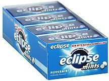 mints sugarfree, peppermint Eclipse Nutrition info