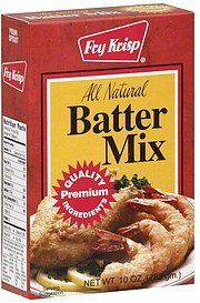 mix batter Fry Krisp Nutrition info