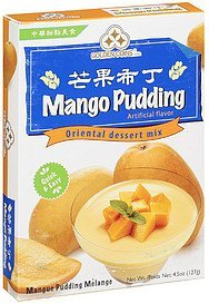 mix mango pudding Golden Coins Nutrition info