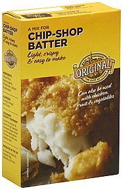 mix original Chip-Shop Batter Nutrition info