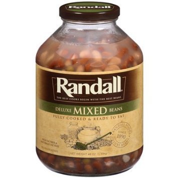 mixed beans deluxe Randall Nutrition info