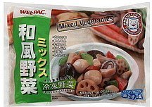 mixed vegetables Wel-pac Nutrition info