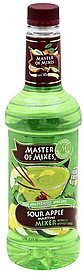 mixer sour apple martini Master of Mixes Nutrition info
