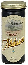 molasses organic John Mountain Nutrition info