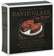mousse cake the ultimate milk chocolate Desserts by David Glass Nutrition info