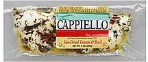 mozzarella cheese sun-dried tomato & basil Cappiello Nutrition info