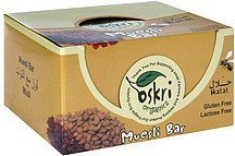 muesli bar Oskri Nutrition info