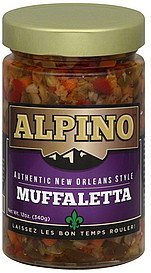 muffaletta authentic new orleans style Alpino Nutrition info