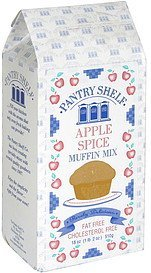 muffin mix apple spice Pantry Shelf Nutrition info