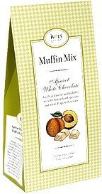 muffin mix apricot white chocolate Iveta Gourmet Nutrition info