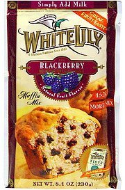 muffin mix blackberry White Lily Nutrition info