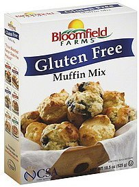 muffin mix gluten free BLOOMFIELD FARMS Nutrition info