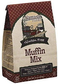 muffin mix Namaste Foods Nutrition info