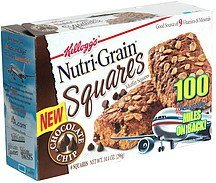 muffin squares chocolate chip Nutri-Grain Nutrition info