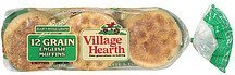 muffins 12 grain english Village Hearth Nutrition info