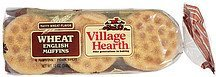 muffins wheat english Village Hearth Nutrition info