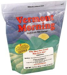 multi-grain hot cereal Vermont Morning Nutrition info