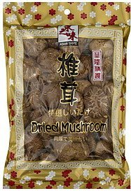 mushroom dried Asian Taste Nutrition info
