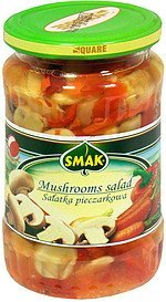 mushrooms salad Smak Nutrition info
