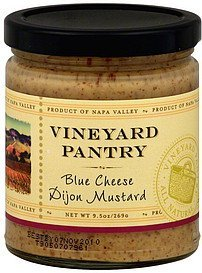 mustard blue cheese dijon Vineyard Pantry Nutrition info