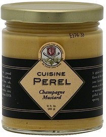 mustard champagne Cuisine Perel Nutrition info