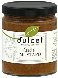 mustard creole Dulcet Nutrition info