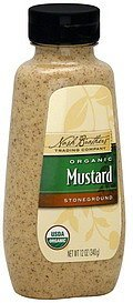mustard organic, stone ground Nash Brothers Trading Company Nutrition info