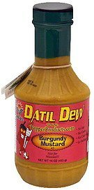mustard sauce burgundy no. 5, medium Datil Dew Nutrition info
